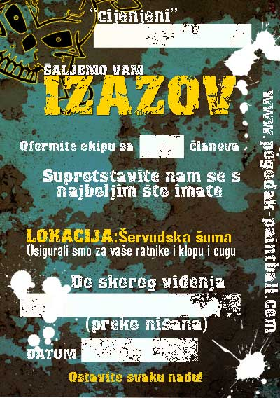 Paintball izazov