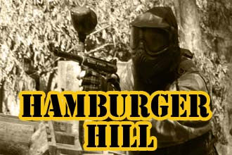hamburger hill paintball teren