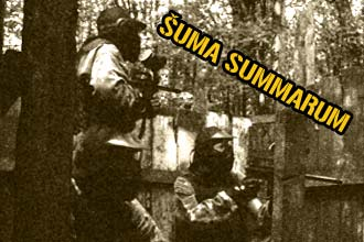 Šuma summarum paintball teren