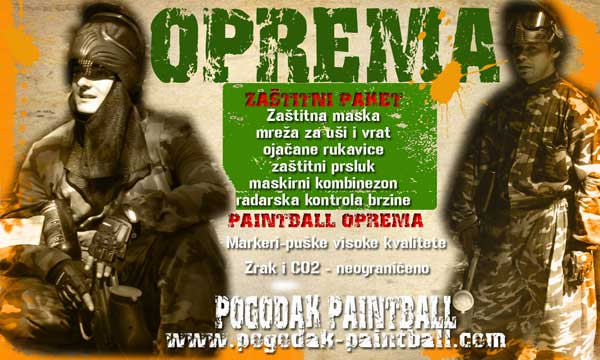 Oprema za paintball